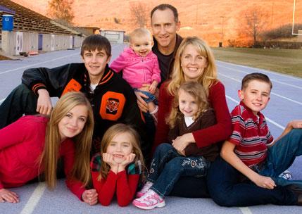 Brad Barton's Family